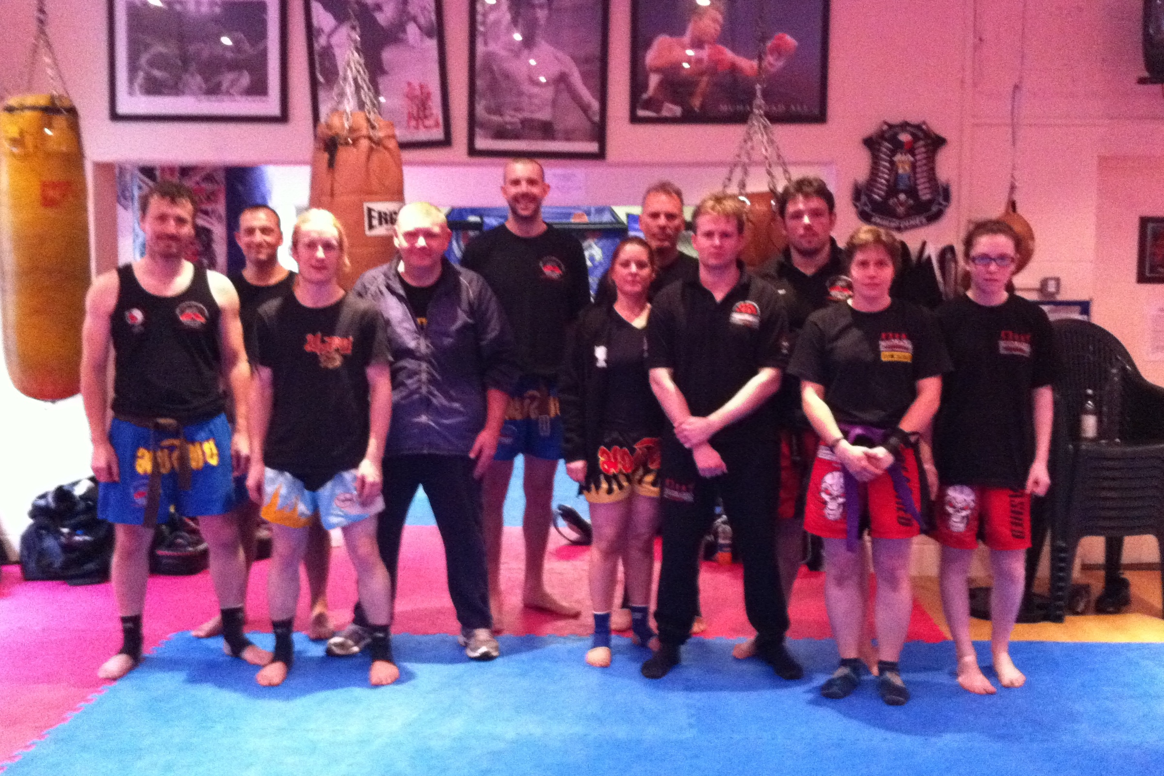 Muay Thai Seminar & Black Belt Grading April 2011 | Laurence Sandum's Black Belt Martial Arts Academy