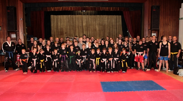 Grading Graduation - May 2011 | Laurence Sandum's Black Belt Martial Arts Academy