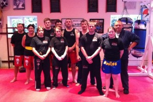 Simon Wells Muay Thai Seminar Oct 2011 | Laurence Sandum's Black Belt Martial Arts Academy