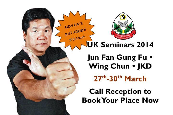 Sifu Francis Fong UK 2014