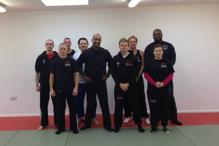 Sifu Mark Phillips Wing Chun Seminar - December 2013 | Laurence Sandum's Black Belt Martial Arts Academy
