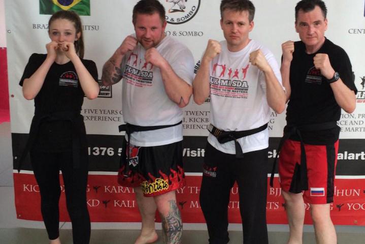 laurence-sandums-kickboxing-grading-photo2-e1436427227160